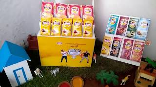 Mini Lay's Chips | Miniature Cooking | Mini Food | Thin Potato Chips