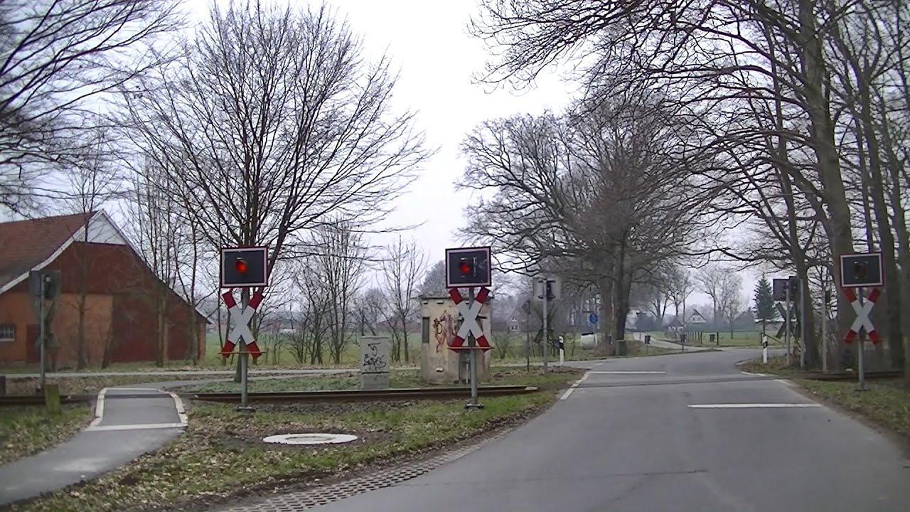 Spoorwegovergang Vechta (D) // Railroad crossing // Bahnübergang