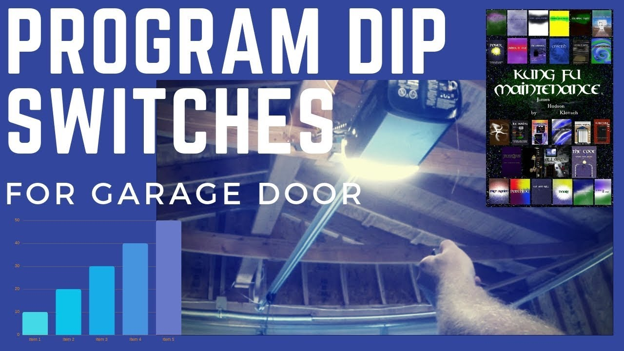 How to program dip switches for garage door gate remotes like how to program dip switches for garage door gate remotes like linear chamberlain universal video youtube rubansaba