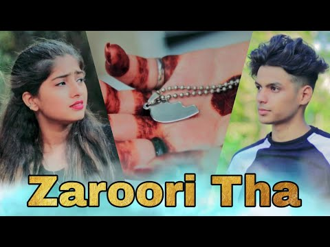 Zaroori Tha - Rahat Fateh Ali Khan   Heart Touching Love Story By Maahi Queen
