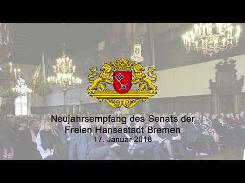 Neujahrsempfang des Bremer Senats 2018 - Rede Bürgermeister Sieling