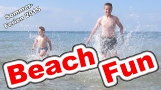 Repeat youtube video Sommer Ferien 2015 Vlog Viel Spaß am Strand Kanal für Kinder Kinderkanal