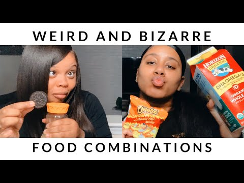 WEIRD AND  BIZARRE FOOD COMBINATIONS