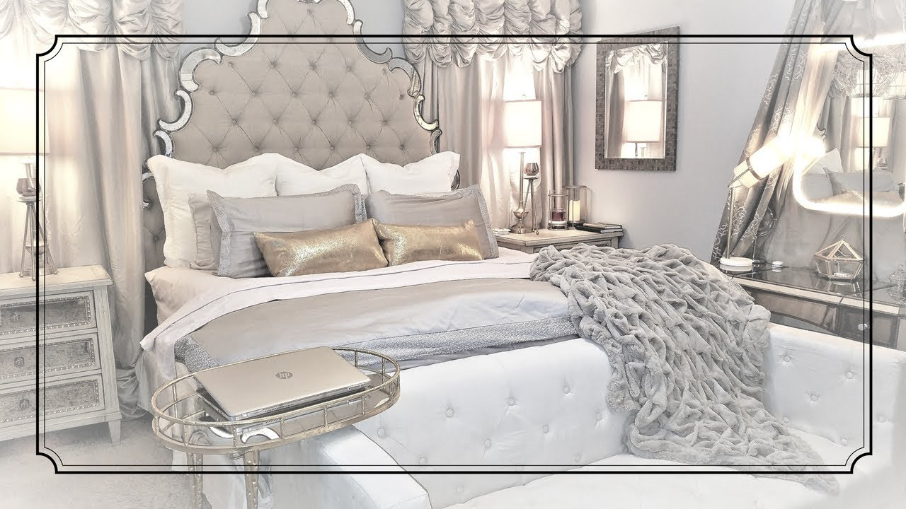 Glam headboard how to make your bed look expensive glam - How to make a bed headboard ...