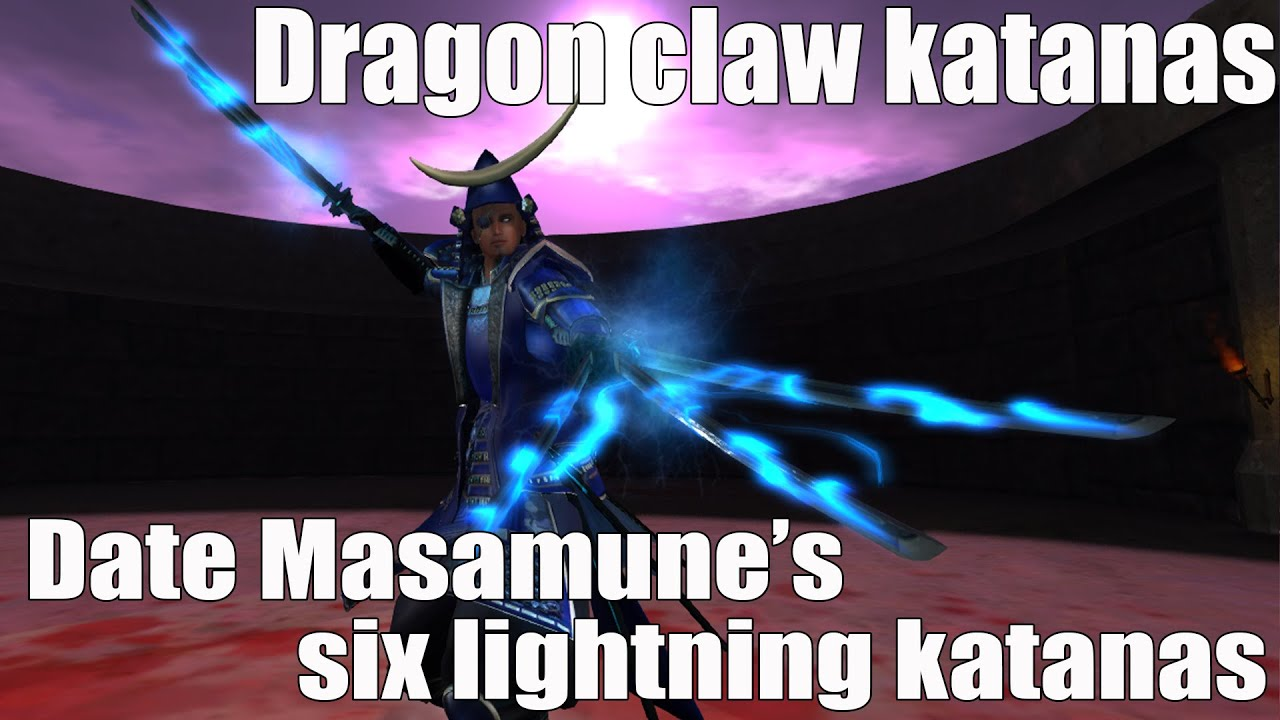 Date Masamune Dragon Claw Katanas (Part I) - YouTube