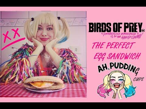 Harley Quinn Birds Of Prey The Perfect Egg Sandwich Sanduiche De Ovo Diy Ciabatta Caseiro Youtube