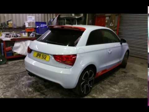 Audi A1 Rear Bumper Repair