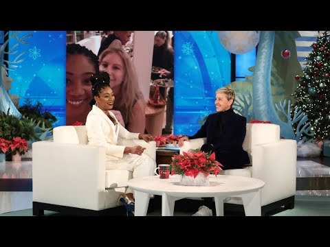 Tiffany Haddish Details Her Dinners with Barbra Streisand & Taylor Swift