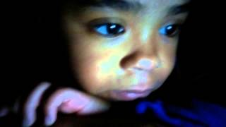 4 year old, Tiffany Sims, tries to convince me to let her sleep in my bed11/19/14 vlog