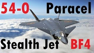 BF4 Stealth Jet - 54 Killstreak | Paracel Storm: J-20 | High Graphics - Turbopummel