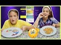 ONLY EATING RECOMMENDED SERVING SIZES FOR 24 HOURS | SISTER FOREVER