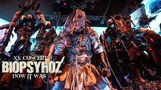 Biopsyhoz - XX Concert / How It Was / Как Это Было 4k
