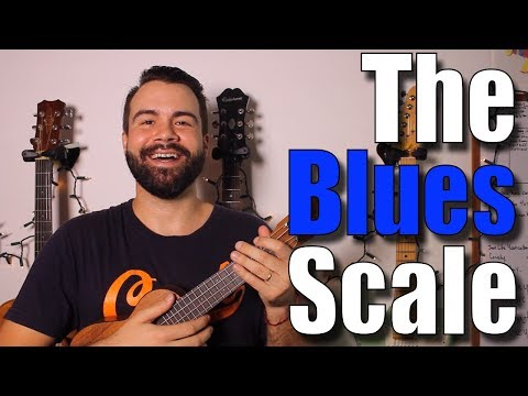Ukulele Blues Soloing Tutorial - All About The Blues Scale