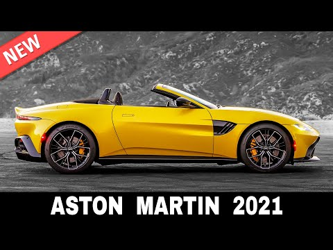 9 Newest Aston Martin Sports Cars that Won't Let the Automaker Go Bust in 2021