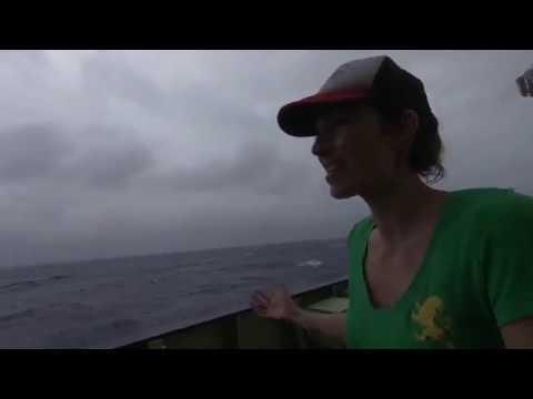 Dr Ale Sanchez-Franks on board RRS James Cook