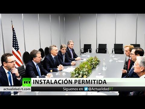 Macri habría autorizado instalar bases militares de EE.UU. en Argentina