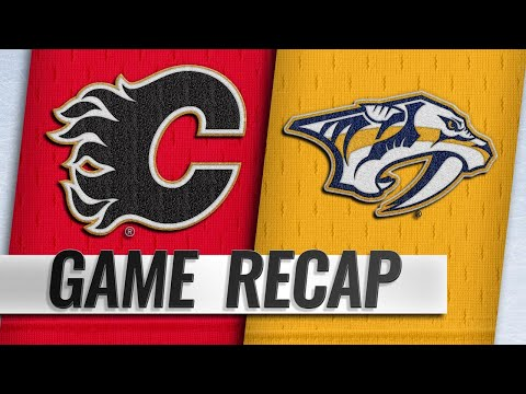 Smith, Monahan lead Flames to 3-0 win