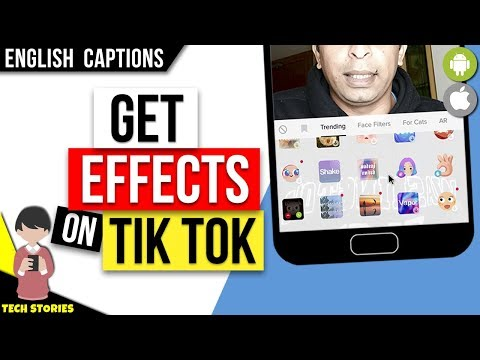 How to Get Effects on Tik Tok | Copy Someone's Effect - YouTube