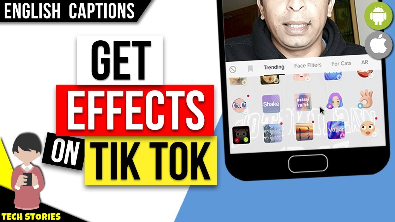 How To Get Effects On Tik Tok Copy Someone S Effect Youtube