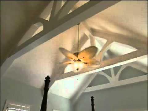Savio Lighting Fanimation The Sandella Ceiling Fan  YouTube