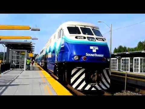 Sound Transit Sounder, BNSF Railway & King County Metro: Tukwila Station
