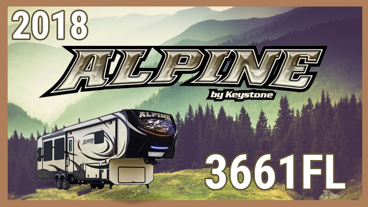 2018 Keystone Alpine 3661fl Fifth Wheel Rv For Sale Terrytown Rv Superstore