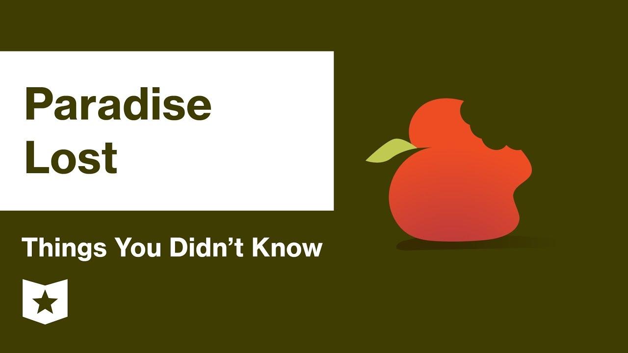 Download Paradise Lost by John Milton   Summary & Analysis