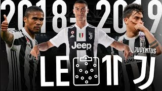 ⚫️⚪️ LE 11 INCROYABLE DE LA JUVENTUS VERSION 2018-2019 | Ronaldo, Dybala, Pjanic, Emre Can, etc