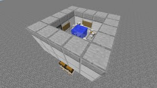 Minecraft 仕分け機能+循環機能付き 全自動鶏肉製造機