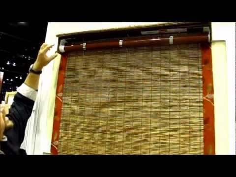 B & W Vitale Cordfree - Cordless Roman Shades by 3 Blind Mice San Diego.wmv