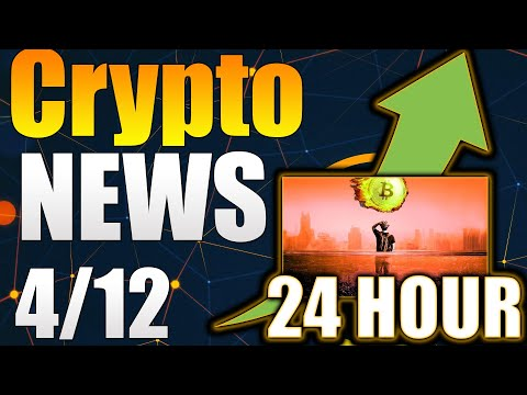 Cryptocurrency News Now – HUGE Crypto News Today – Crypto News Now – Crypto News Alerts – 4/12