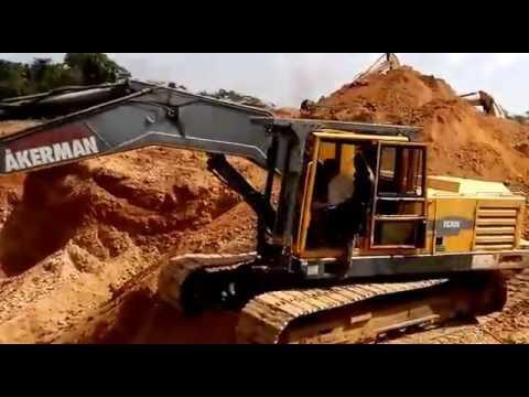 Gold mining in Ghana