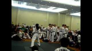 Chris Blount 2nd Degree Black Belt Form ATA PCB Tournament 2012