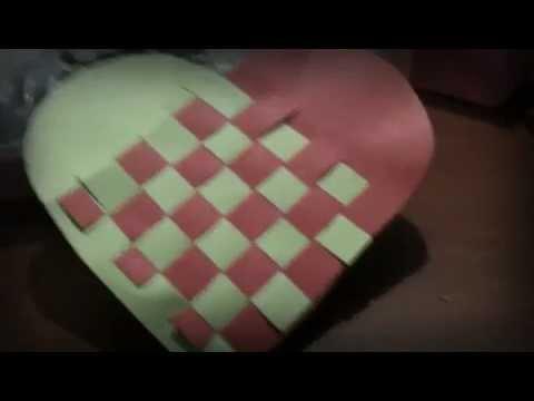 Como hacer un coraz n trenzado manualidades youtube - Ver como hacer manualidades ...