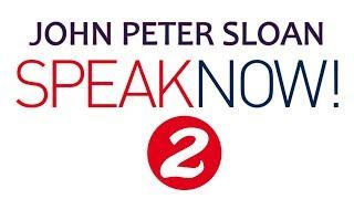 John Peter Sloan in Speak Now! 2/20