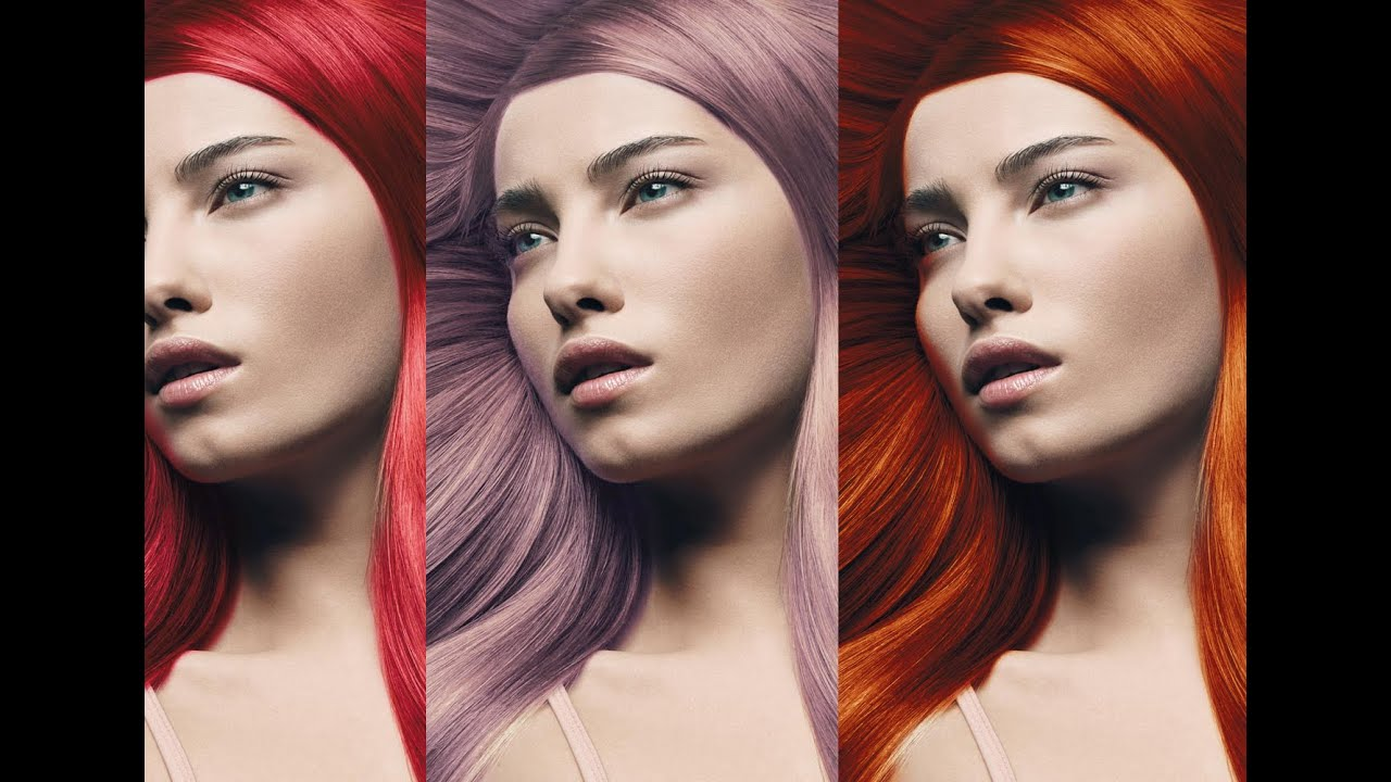Adobe Photoshop Cs6 Tutorial How To Change Hair Color In
