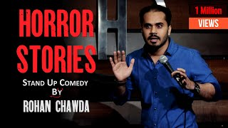 Funny Horror Stories | Rohan Chawda | Stand up Comedy @The Habitat Studios  | March 2021