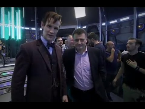 *SPOILERS* Behind the scenes: The Time of the Doctor & Matt Smith's regeneration | Doctor Who | BBC