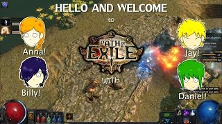 First look - Path of exile Act 2 | with Friends!