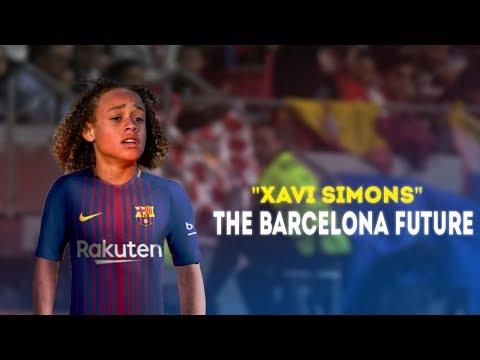 Xavi Simons ● The Future of FC Barcelona ● 2014-2017 HD