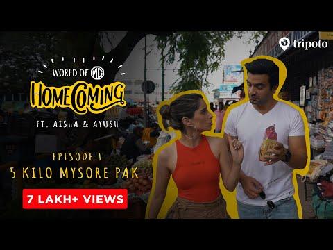 Homecoming | S01E01 | 5 KG Mysore Pak | Ft. Aisha Ahmed & Ayush Mehra