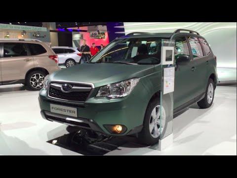 Model Subaru Forester 2016 In Detail Review Walkaround Interior