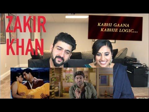 Tip Tip Barsa Pani Reaction | Zakir Khan | Kabhi Gana Kabhi Logic | Reaction by Rajdeep