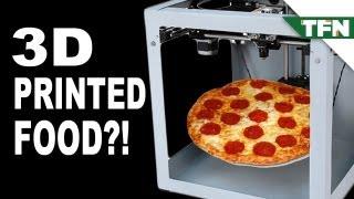 3D Printed Food Coming Soon?
