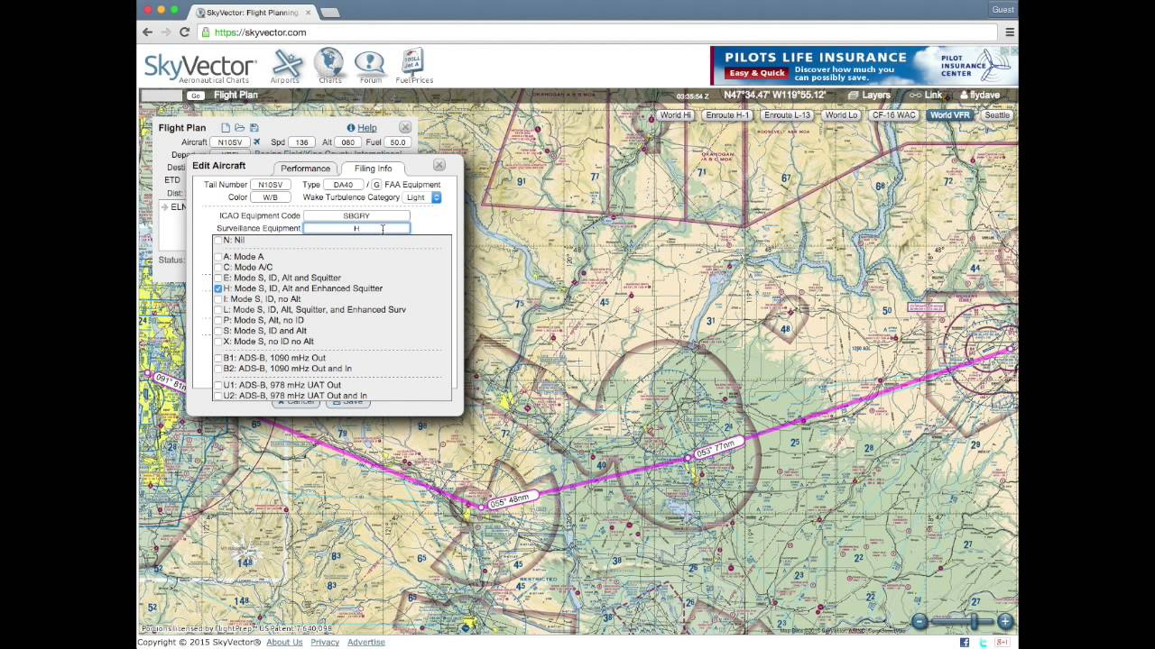 Flight Planning and Filing Pilot's Guide | SkyVector