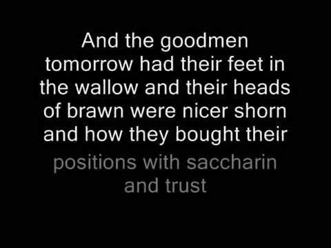 David Bowie - The Bewlay Brothers (Lyrics)
