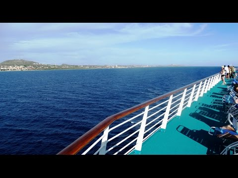 Monarch Cruise Ship - Caribbean Cruise 5 - Curaçao - Panama / Caribbean sea 2014