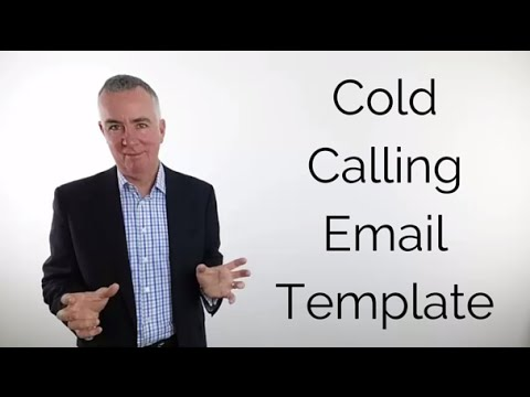 Cold calling email template youtube for Email cold call template
