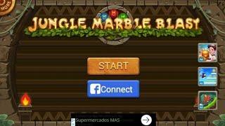Jungle Marble Blast screenshot 2