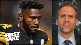 Max Kellerman can't see Antonio Brown being on an NFL roster this season | First Take